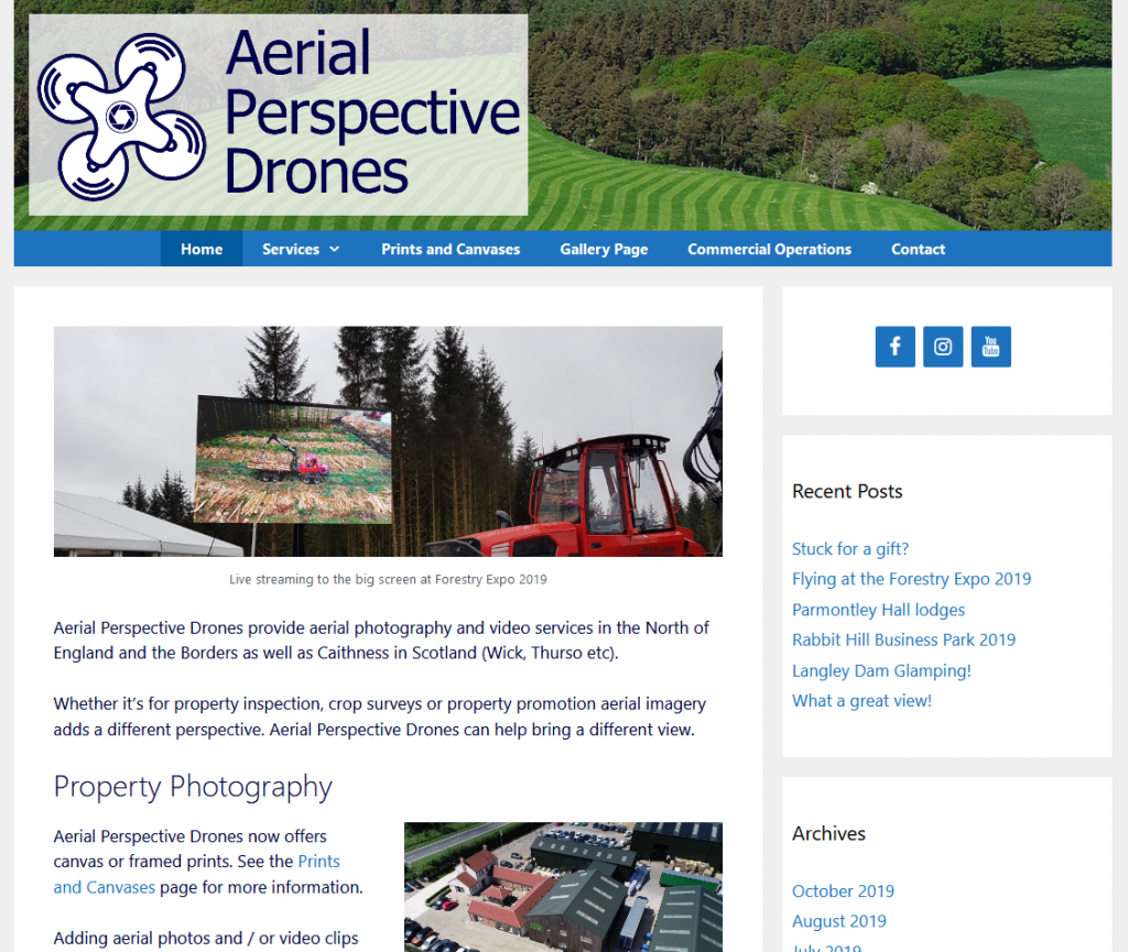 Aerial Perspective Drones – Aerial Photography and Video in the North of England